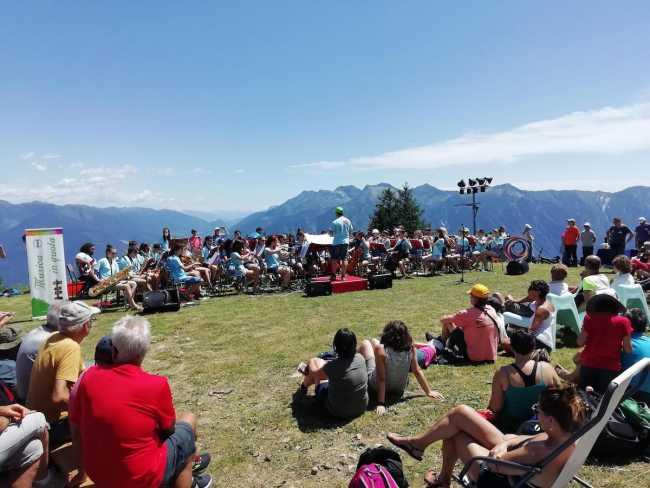 Musica in quota Alpe Casalavera 7 luglio 2019 8