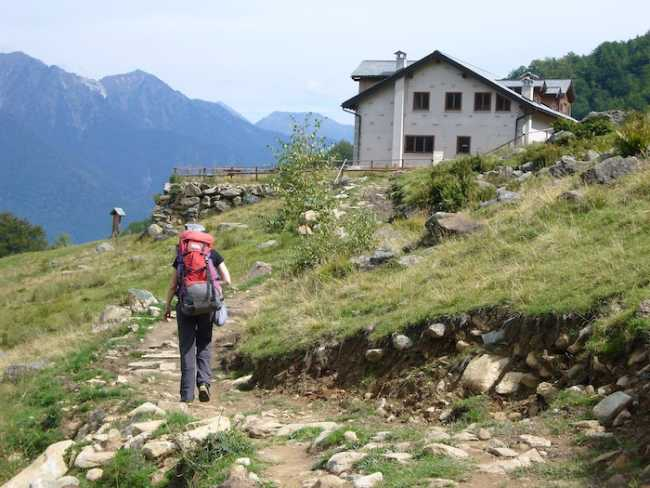 Rifugio del Parco Alpe Parpinasca foto B Thelesklaf