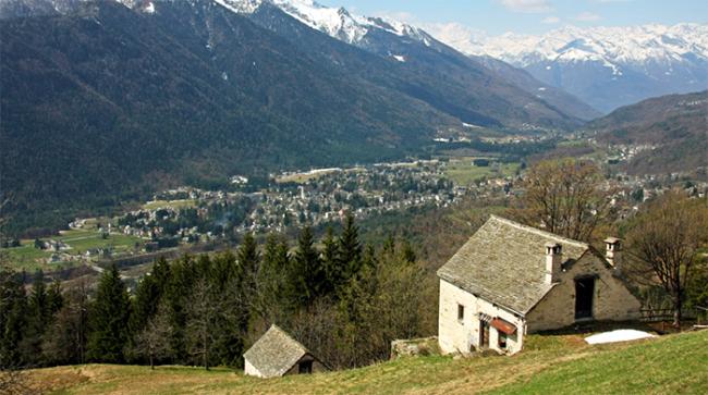 baita valle vigezzo vista