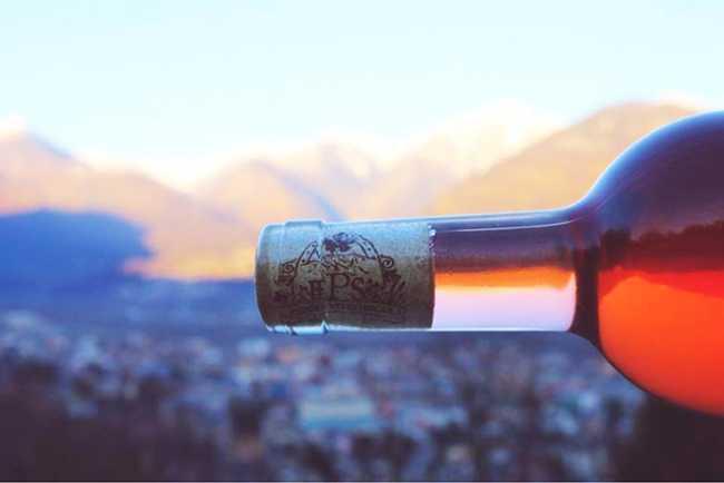 bottiglia vino afondo domo patrone