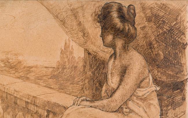ciolina donna disegno