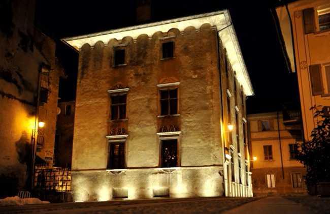 palazzo silva notte