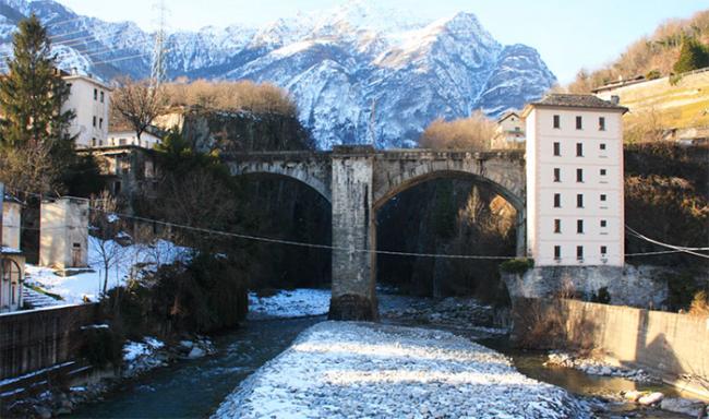 ponte crevola crevoladossola inverno
