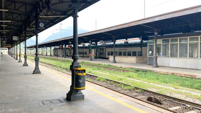 treno stazione nuovolo