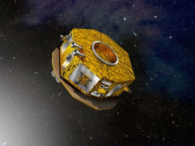 Artist s impression of LISA Pathfinder4